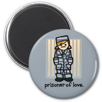 criminal attraction. 2 inch round magnet
