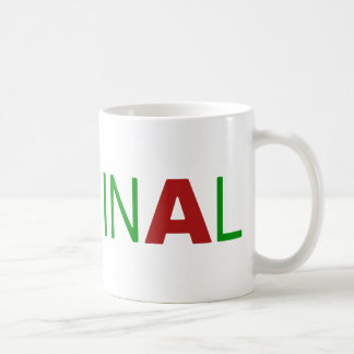 Criminal Coffee Mug