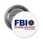 Criminal del FBI BAU Pin Redondo 5 Cm