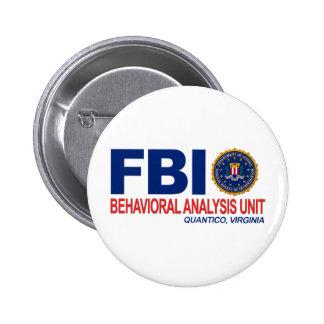 Criminal del FBI BAU Pin Redondo De 2 Pulgadas