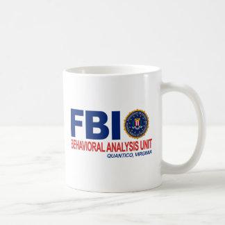 Criminal del FBI BAU Taza
