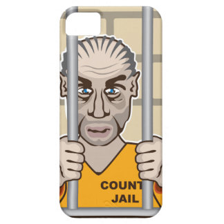 Criminal en cárcel iPhone 5 carcasa