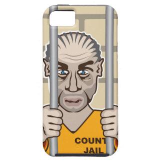 Criminal en cárcel iPhone 5 carcasas