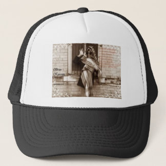 criminal in disguise promo trucker hat