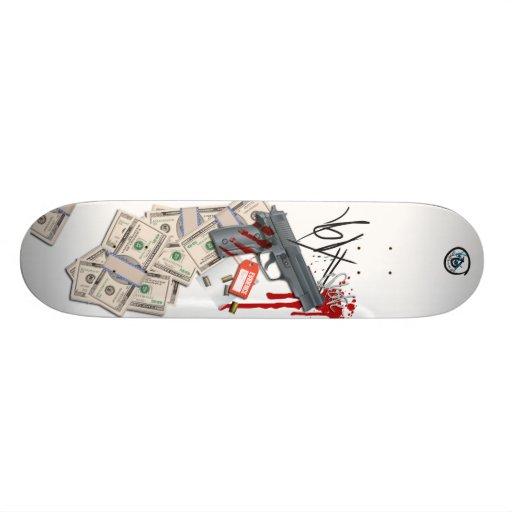 Criminal Intent Skateboard Deck
