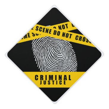 Criminal Justice - Law School Graduation Cap Topper