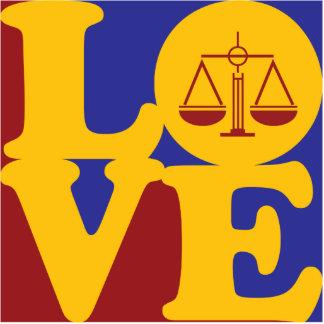 Criminal Justice Love Photo Sculpture