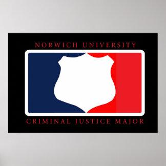Criminal Justice Major Print