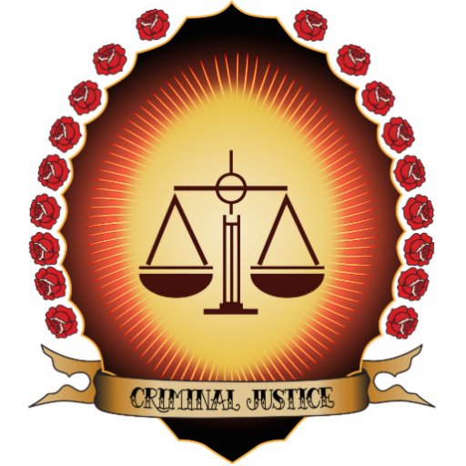 Criminal Justice Mandorla Photo Cut Out