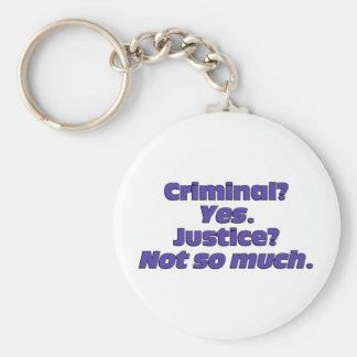 Criminal Justice System Key Chains