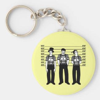Criminal Mimes Keychain