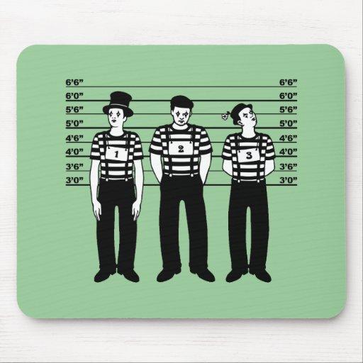 Criminal Mimes Mouse Pad
