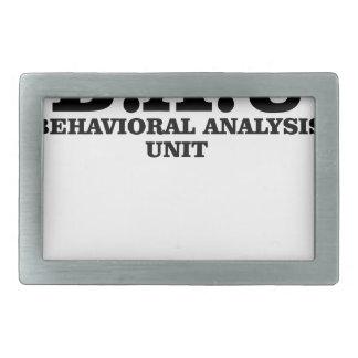 Criminal Minds BAU Behavioral Analysis Unit Shirts Belt Buckle