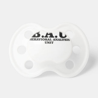 Criminal Minds BAU Behavioral Analysis Unit Shirts Pacifier