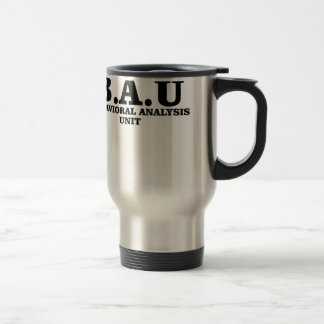 Criminal Minds BAU Behavioral Analysis Unit Shirts Travel Mug