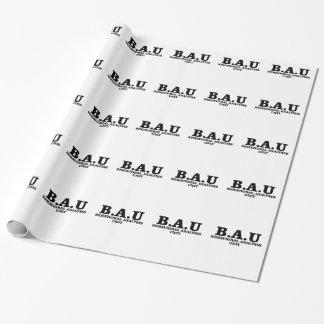 Criminal Minds BAU Behavioral Analysis Unit Shirts Wrapping Paper