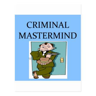 CRIMINALgenius Postcard