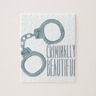 Criminally Beautiful Jigsaw Puzzle