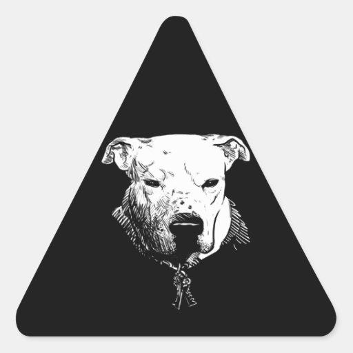 Criminalz original: Keyz delgado Pegatina Triangular