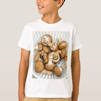 Crimini Mushrooms in a Colander T-Shirt