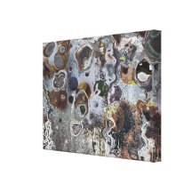 Crimple - Abstract Stretched Canvas Print