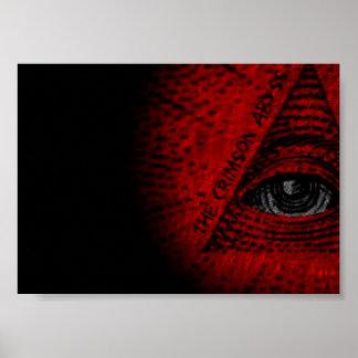 Crimson Abyss Poster ArtWork
