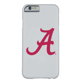 Crimson Alabama A Barely There iPhone 6 Case