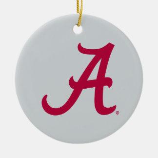 Crimson Alabama A Ceramic Ornament