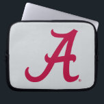 "Crimson Alabama A Laptop Sleeve<br><div class=""desc"">Check out these official Alabama Crimson Tide Logo products! Show your Crimson Tide pride by getting your Bama gear here.  These products will allow you to take your Alabama spirit with you wherever you go!</div>"