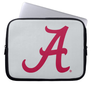 Crimson Alabama A Laptop Sleeve