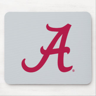 Crimson Alabama A Mouse Pad