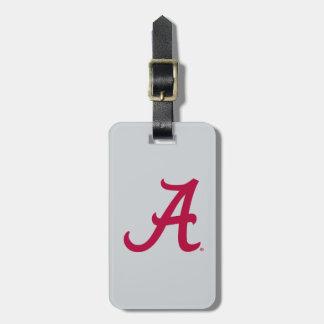 Crimson Alabama A Tag For Luggage