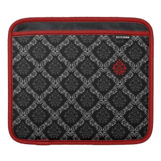 Crimson and Black Moroccan Rickshaw Sleeve iPad Sleeve