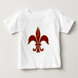 Crimson and Gold Fleur-de-lis - Infant T-Shirt