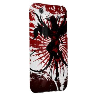Crimson Angels iPhone 3 Case-Mate Case