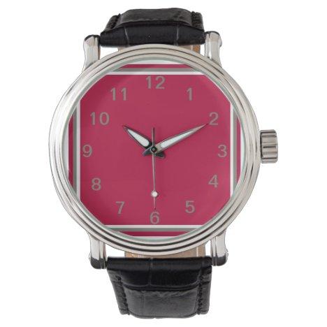 Crimson Bounty Wrist Watch