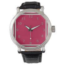 Crimson Bounty Wristwatches