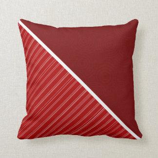 Crimson Cardinal Red Pillow