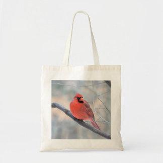 Crimson Cardinal Tote Bag