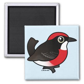 Crimson Chat 2 Inch Square Magnet