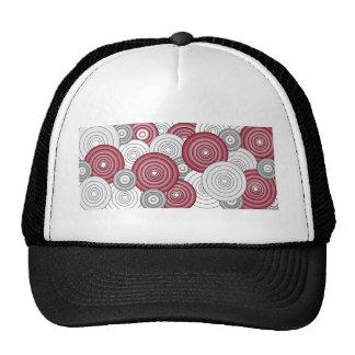 crimson circles hats