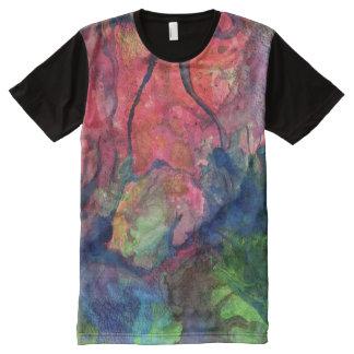 Crimson Dawn All-Over-Print Shirt