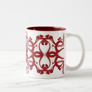 Crimson Distortions Mug