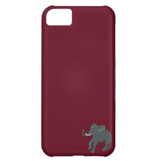 Crimson Elephant iPhone Case iPhone 5C Cover