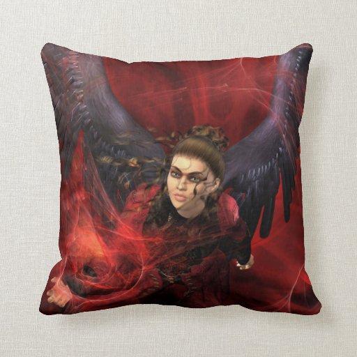 Crimson Evocation Pillow