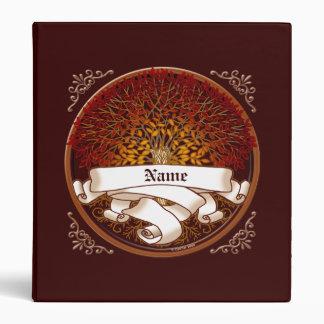 Crimson Family Tree Binder