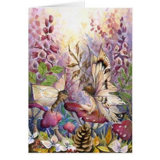 Crimson Foxglove Card