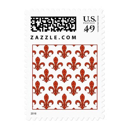 Crimson Garden Fleur Stamp