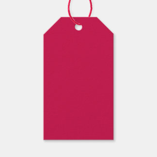 Crimson Pack Of Gift Tags