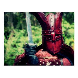 Crimson Guard- Post Card